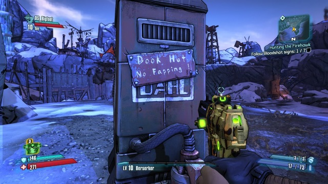 An example of Borderlands 2 tasteless yet hilarious sense of humor