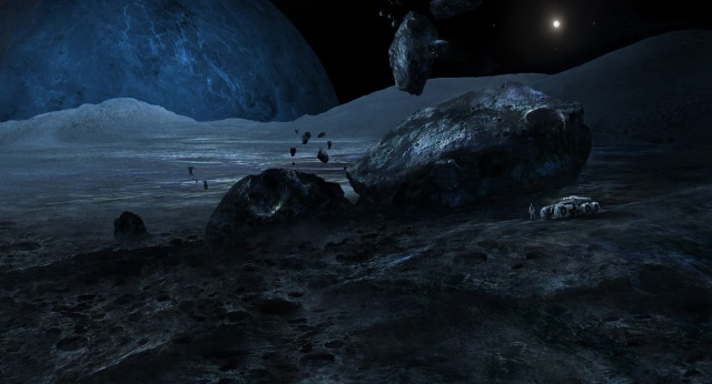 Some concept art for Mass Effect 4 that was released last November.