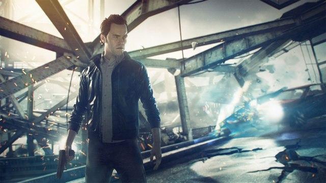 Screenshot of Remedy's upcoming Quantum Break