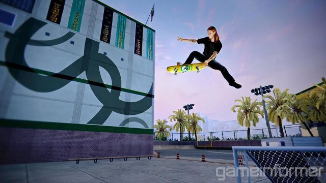 A new screen for the upcoming Pro Skater