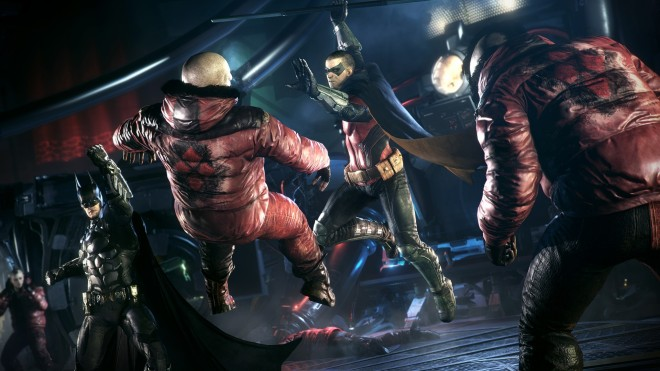 Many side missions allow the player to change from Batman to his ally seamlessly