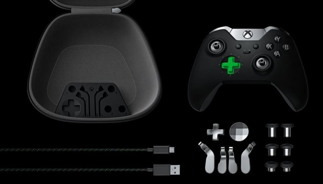 Everything that comes in the Elite controller package