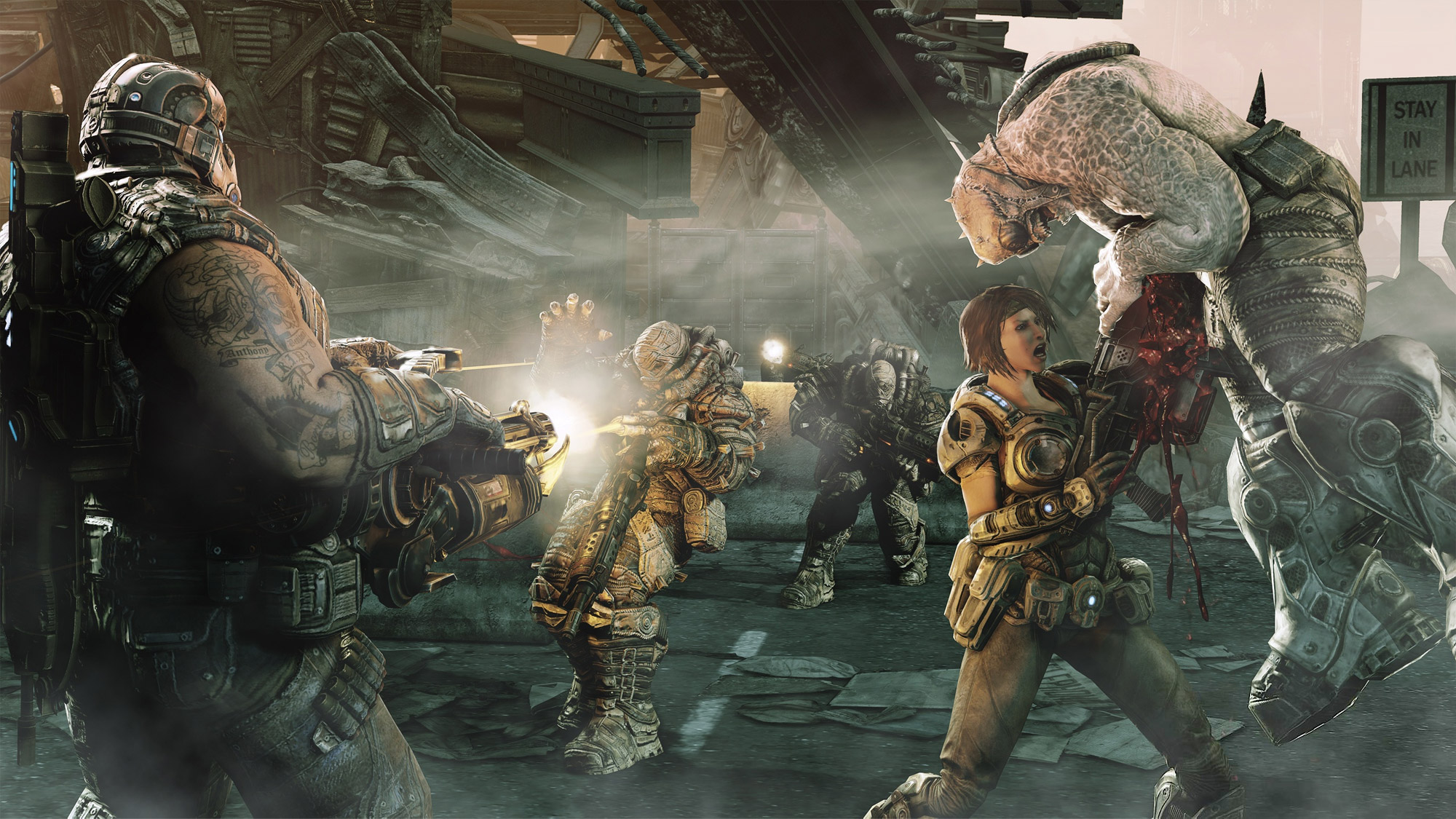 Gears Of War 3 Multiplayer Characters