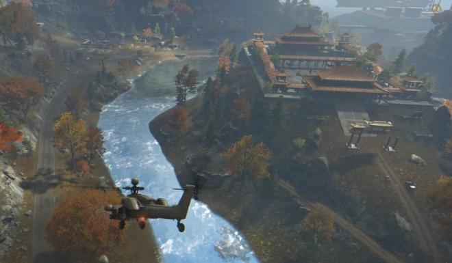 A glimpse at Dragon Valley's castle