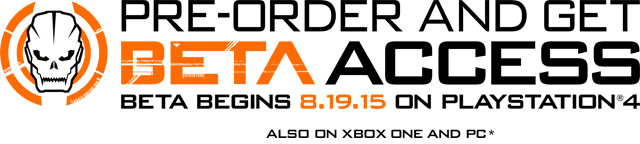 One the ads that implied beta access would be exclusive to those who pre-order