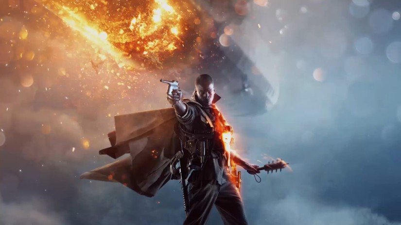 DICE shows off more Battlefield 1 campaign