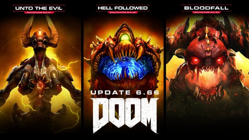 DOOM's 6.66 update makes DLC free, revamps progression and offers sweetdeals