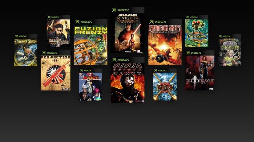 Original Xbox backwards compatibility goes live October24