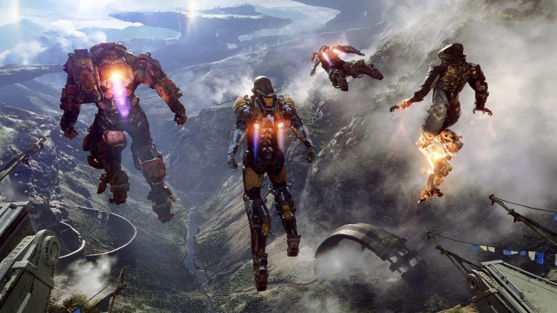 EA details Anthem, Battlefield 2018release